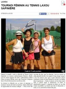 ER 07.08.2014 - tournoi féminin