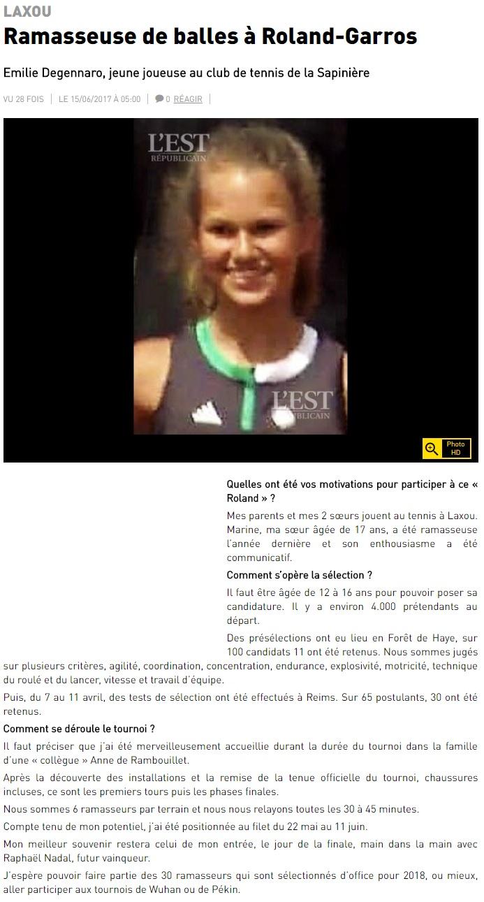 ER 20170615 - Ramasseuse de balles à Roland Garros