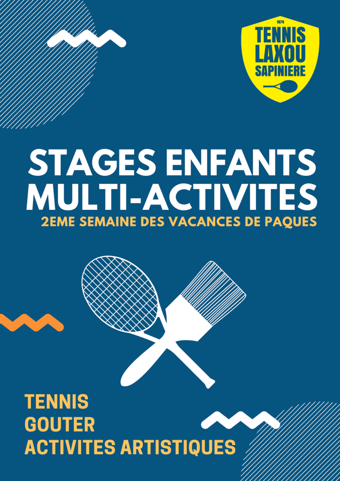 stage tennis and art