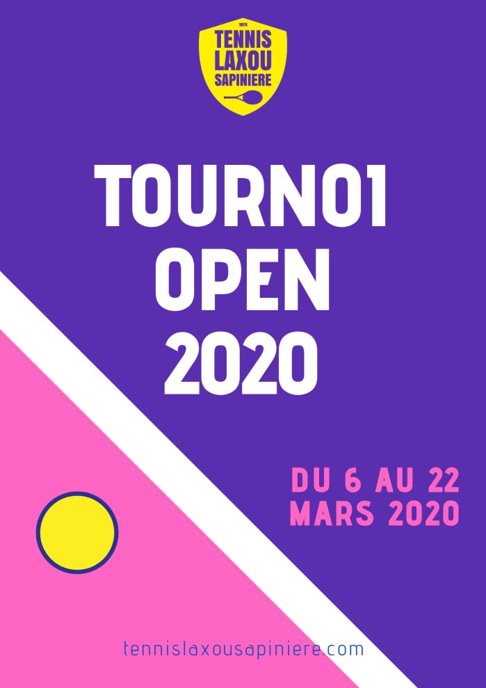 TLS - affiche tournoi open 2020