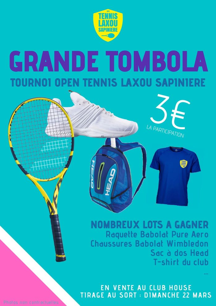 Tournoi open - tombola